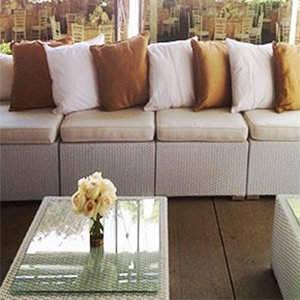 Wicker Lounge Furniture